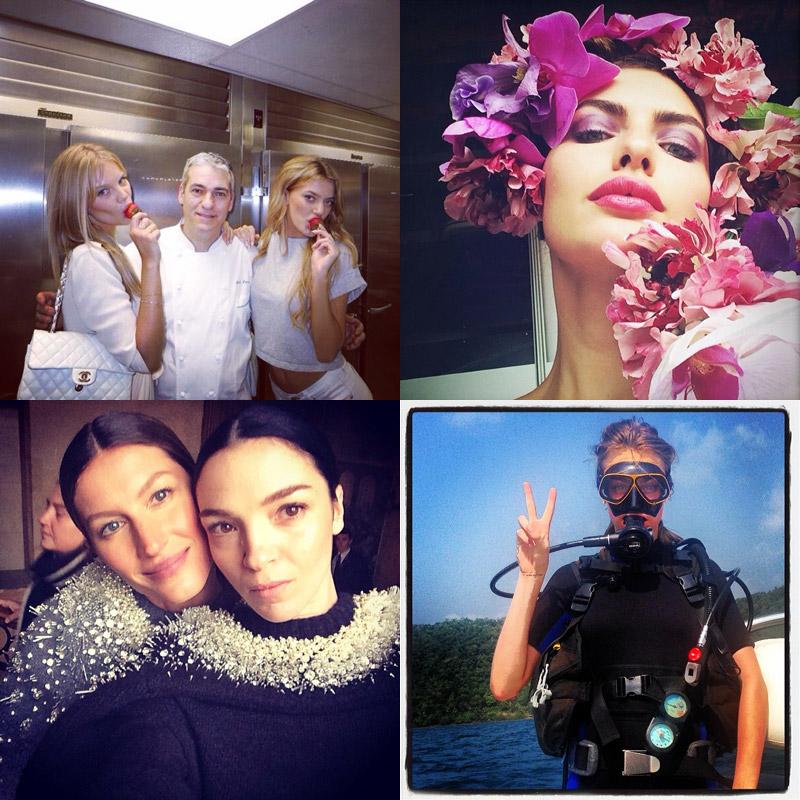 Instagram Photos of the Week | Gisele Bundchen, Mariacarla Boscono + More