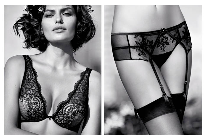 intimissimi alyssa miller campaign5 Alyssa Miller Wows for Intimissimi Spring/Summer 2014 Campaign