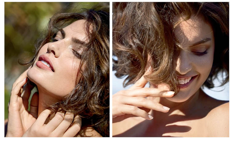 Alyssa Miller Wows for Intimissimi Spring/Summer 2014 Campaign
