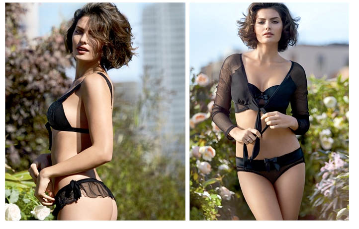 intimissimi alyssa miller campaign7 Alyssa Miller Wows for Intimissimi Spring/Summer 2014 Campaign