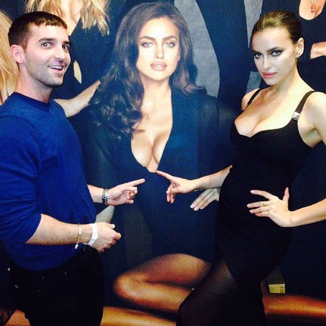 irina cutout Instagram Photos of the Week | Lily Aldridge, Nina Agdal + More Models