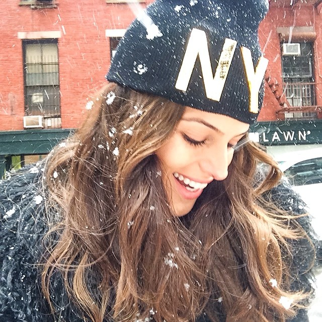 izabel snow Instagram Photos of the Week | Lily Aldridge, Nina Agdal + More Models
