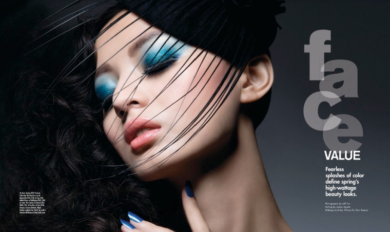 Cris + Jing Shine for Jeff Tse in Modern Luxury Shoot