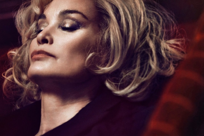 jessica lange marc jacobs2 64 Year Old Jessica Lange Looks Gorgeous in Marc Jacobs Beauty Campaign