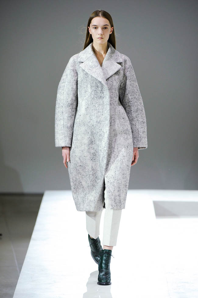 jil sander fall winter 2014 show23 Jil Sander Fall/Winter 2014 | Milan Fashion Week