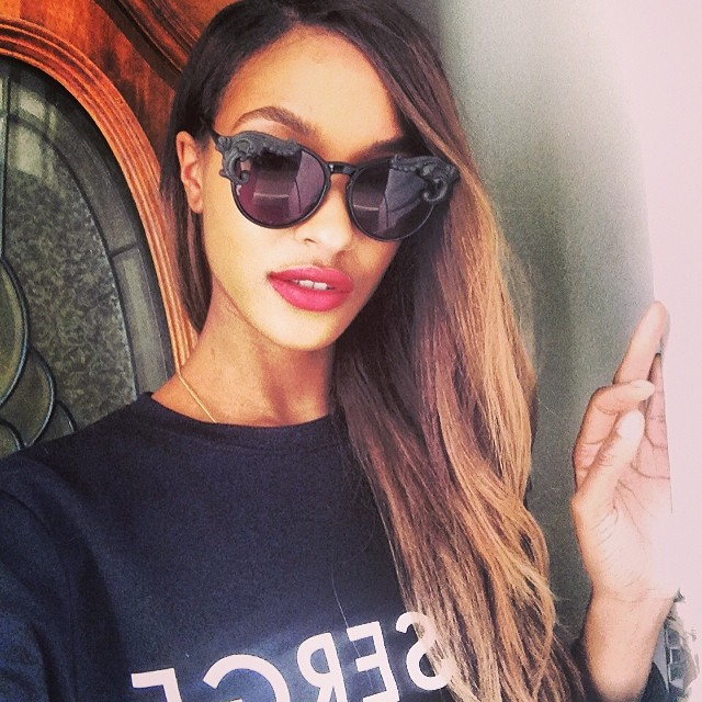 jourdan red Maybelline Taps Jourdan Dunn as Latest Spokesperson