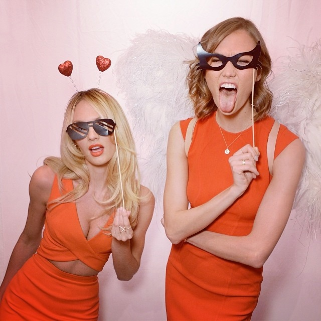 Candice Swanepoel + Karlie Kloss Celebrate Bombshells Day with Victoria's Secret