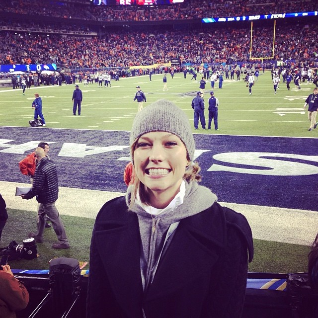 karlie superbowl Instagram Photos of the Week | Irina Shayk, Chrissy Teigen + More Models