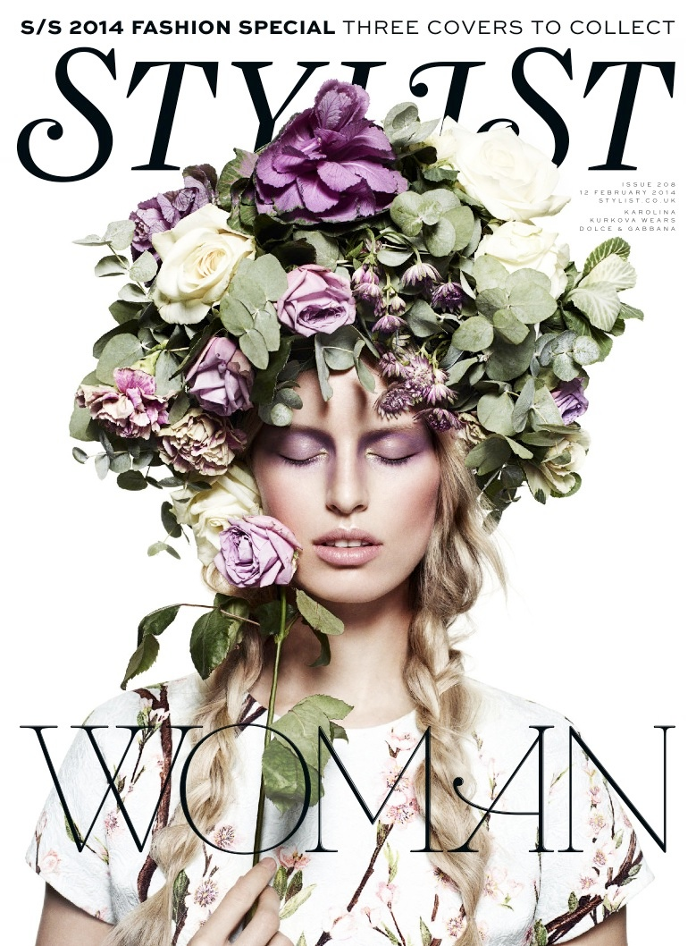 karolina kurkova stylist disguise6 Karolina Kurkova is a Mistress of Disguise for Stylist Magazine
