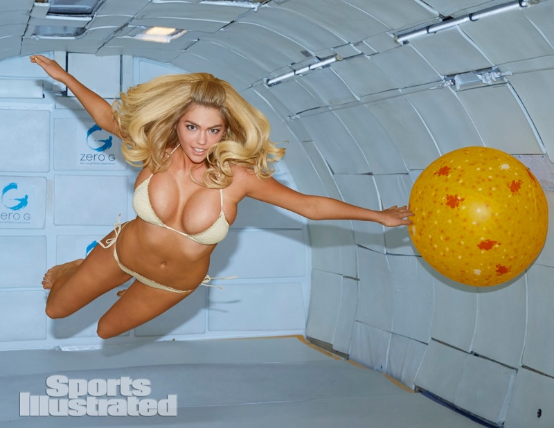Kate Upton Models Bikinis in Zero Gravity for Sports Illustrated's Swimsuit Issue