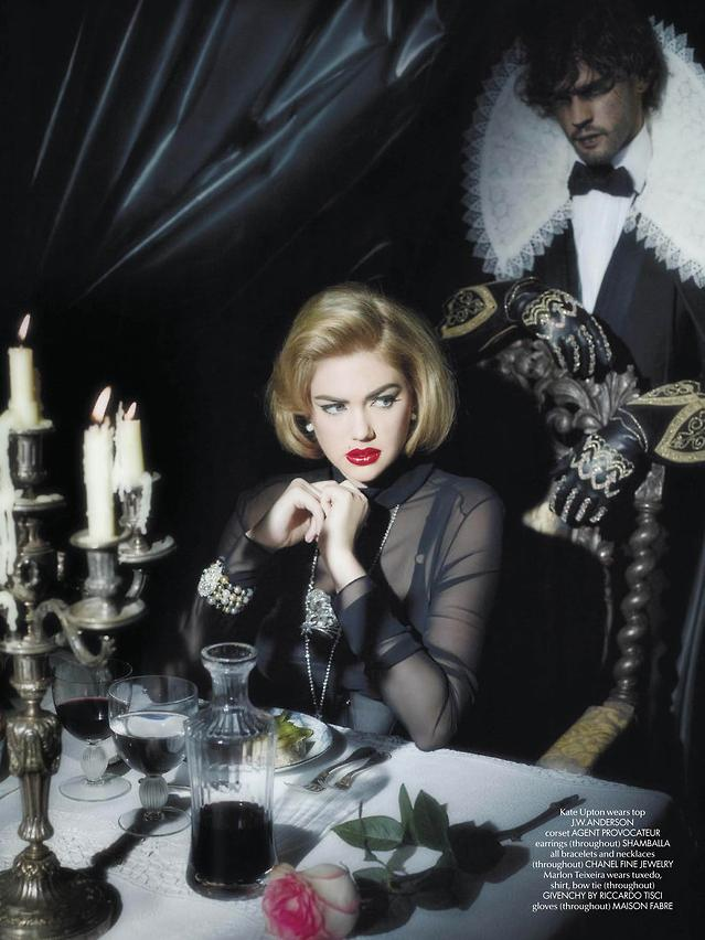 Kate Upton Covers Up for Karl Lagerfeld in CR Fashion Book