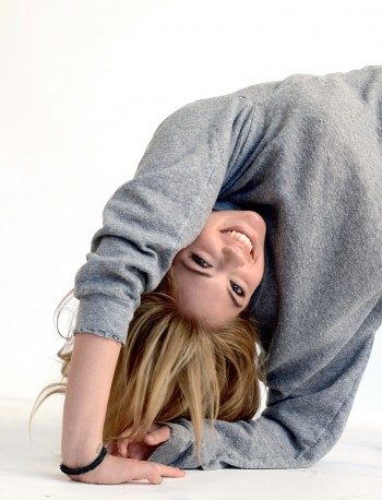 Kate Upton Attempts a Handstand for LOVE's S/S Issue