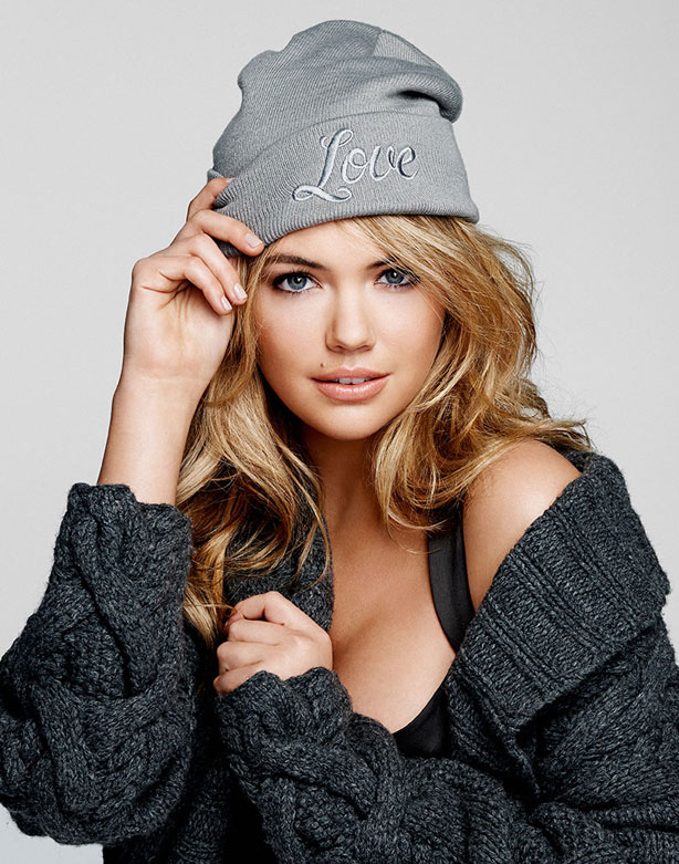 Kate Upton Stands Up to Cancer with Neff