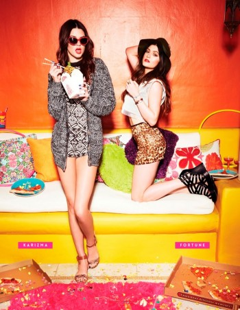 Kendall & Kylie Jenner Team Up for Steve Madden Shoot by Kareem Black