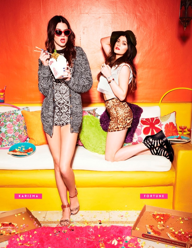 kendall kylie jenner steve madden1 Kendall & Kylie Jenner Team Up for Steve Madden Shoot by Kareem Black