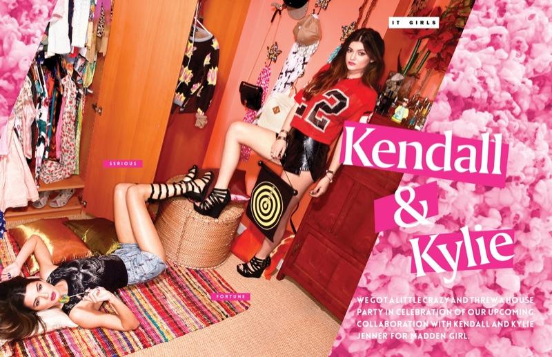 Kendall & Kylie Jenner Team Up for Steve Madden Shoot by Kareem Black