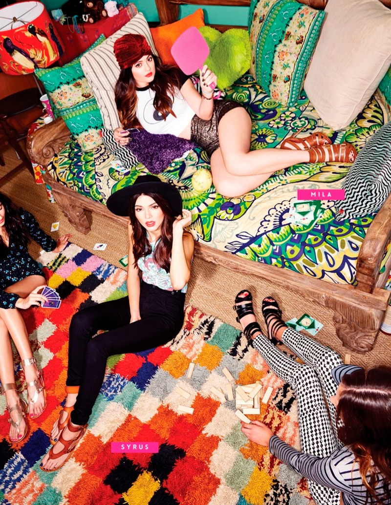 kendall kylie jenner steve madden4 Kendall & Kylie Jenner Team Up for Steve Madden Shoot by Kareem Black