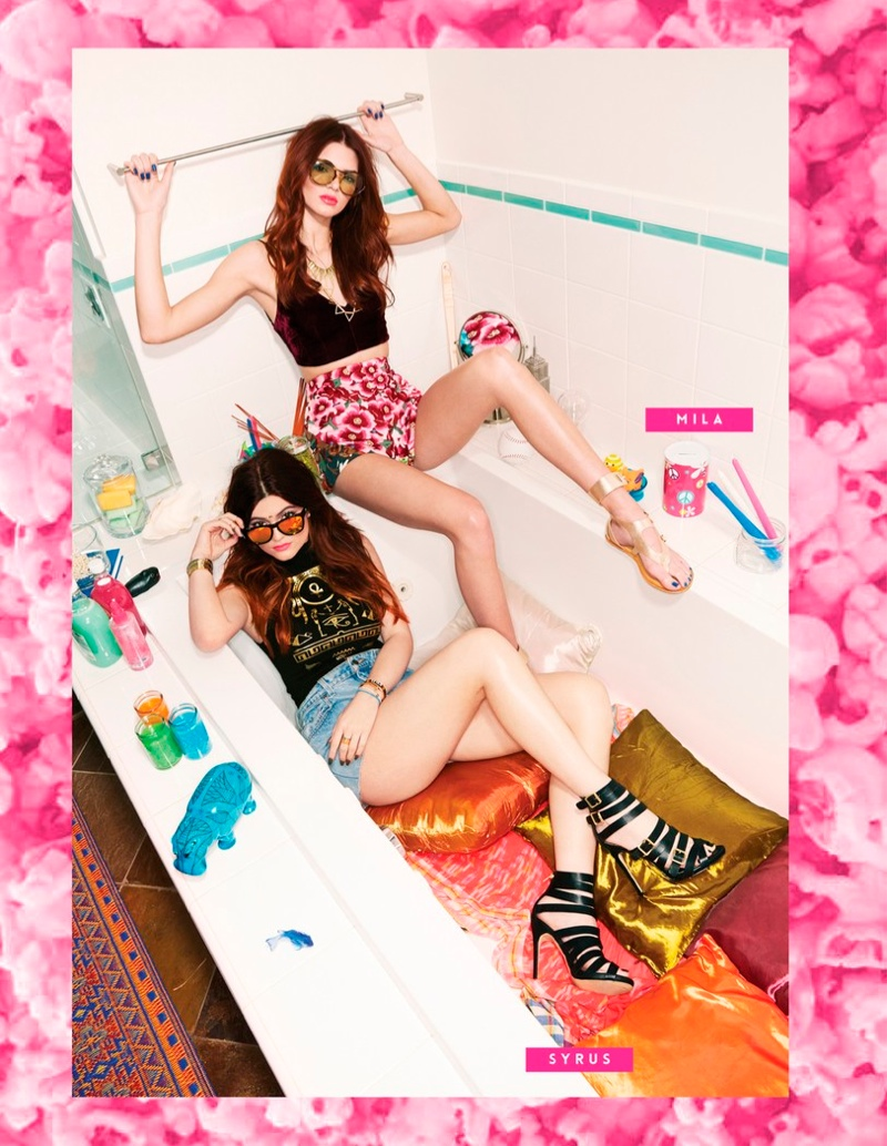 kendall kylie jenner steve madden5 Kendall & Kylie Jenner Team Up for Steve Madden Shoot by Kareem Black