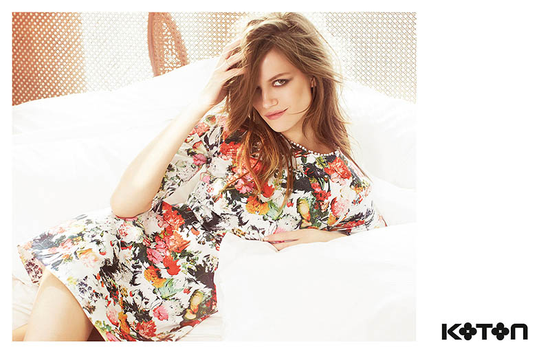 koton spring 2014 campaign1 Kasia Struss Gets Sunny for Koton Spring 2014 Ads by Emre Dogru