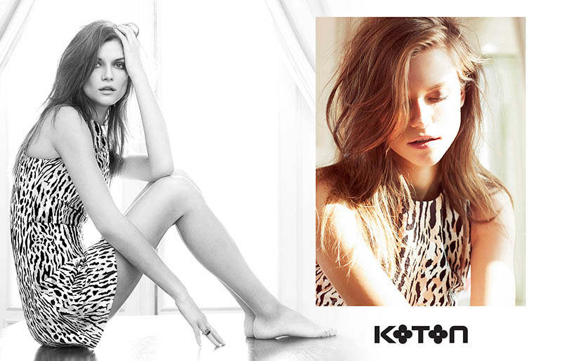 koton spring 2014 campaign3 Kasia Struss Gets Sunny for Koton Spring 2014 Ads by Emre Dogru