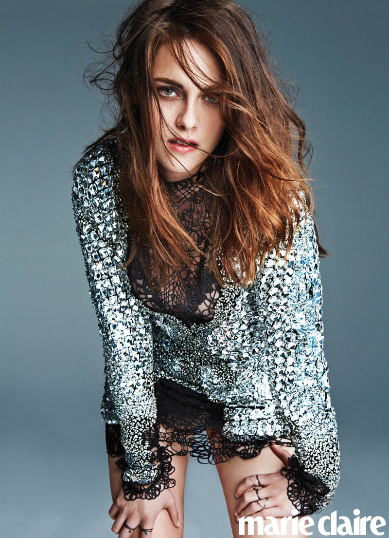kristen stewart marie claire2 Kristen Stewart Covers Marie Claire, Tells People to Judge Away