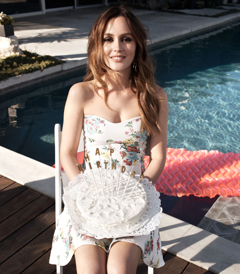 leighton meester nelly shoot8 Leighton Meester Fronts Spring 2014 Campaign for Nelly.com