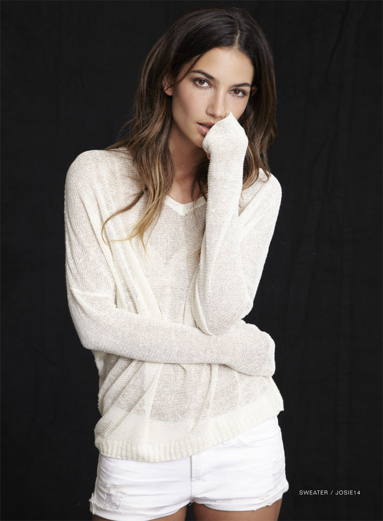 lily velvet lookbook11 Lily Aldridge Teams Up with Velvet for Spring 2014 Collection