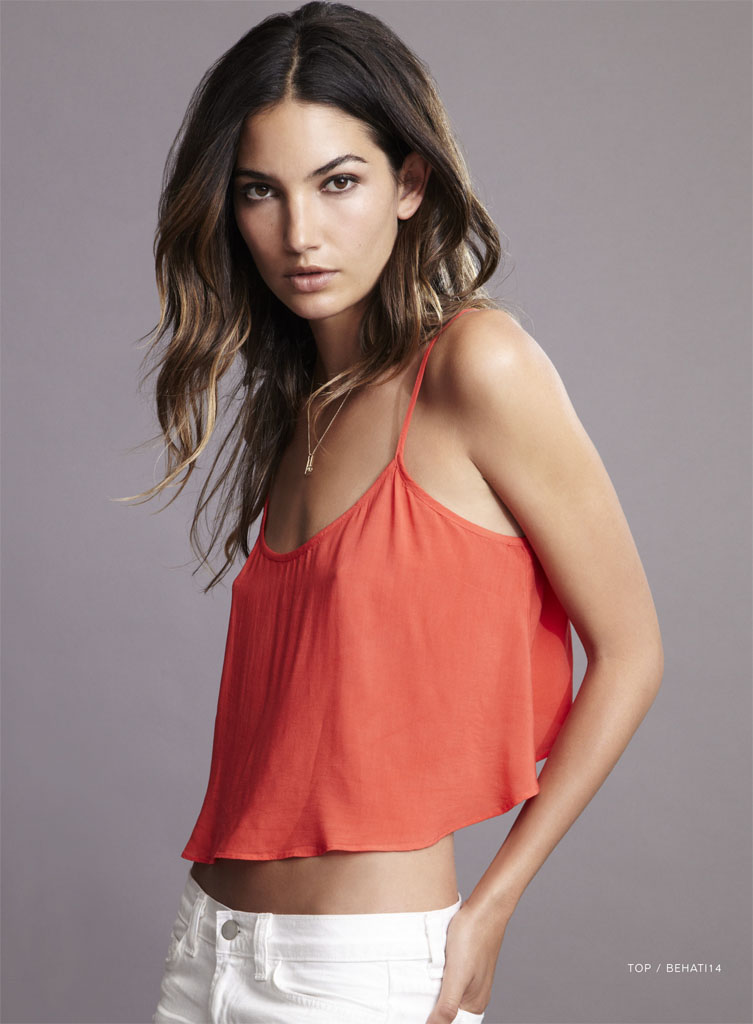 lily velvet lookbook13 Lily Aldridge Teams Up with Velvet for Spring 2014 Collection