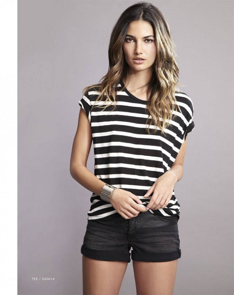 lily velvet lookbook14 800x1007 Lily Aldridge Teams Up with Velvet for Spring 2014 Collection