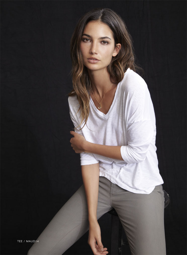 lily velvet lookbook16 Lily Aldridge Teams Up with Velvet for Spring 2014 Collection