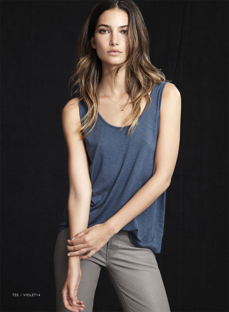lily velvet lookbook19 Lily Aldridge Teams Up with Velvet for Spring 2014 Collection