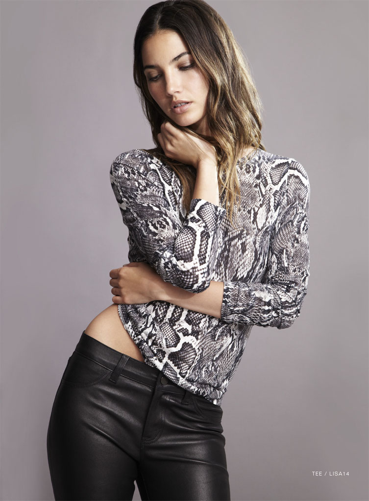lily velvet lookbook2 Lily Aldridge Teams Up with Velvet for Spring 2014 Collection