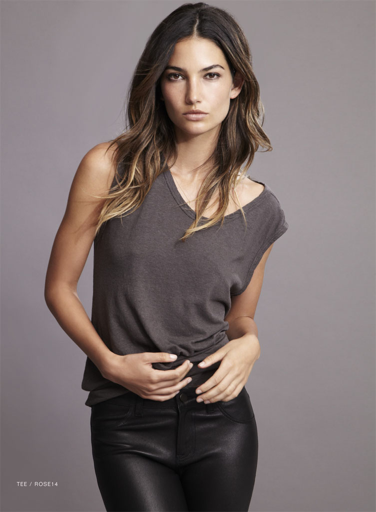 lily velvet lookbook3 Lily Aldridge Teams Up with Velvet for Spring 2014 Collection