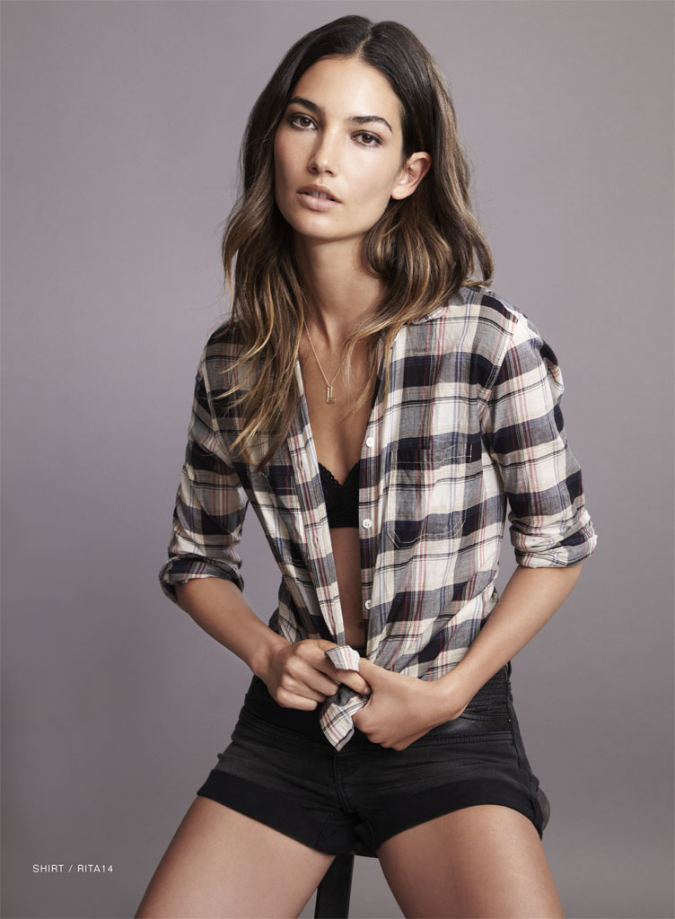 lily velvet lookbook4 Lily Aldridge Teams Up with Velvet for Spring 2014 Collection