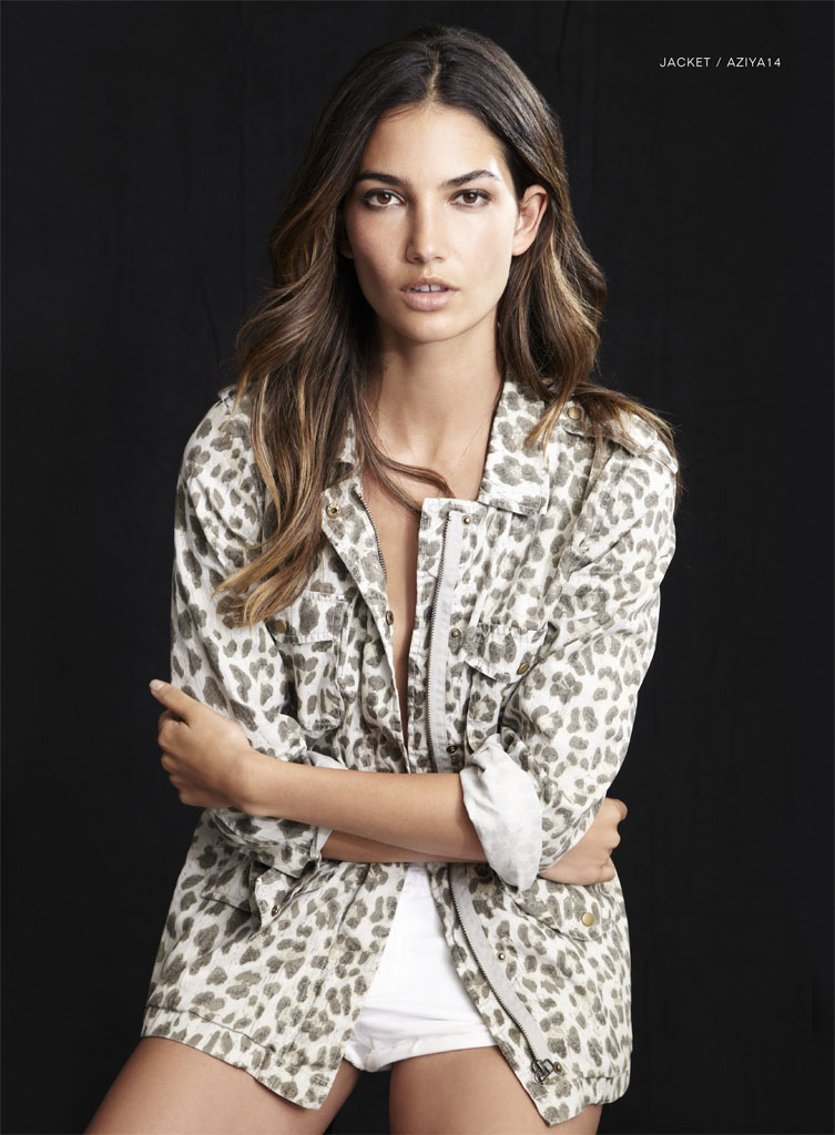 lily velvet lookbook6 Lily Aldridge Teams Up with Velvet for Spring 2014 Collection