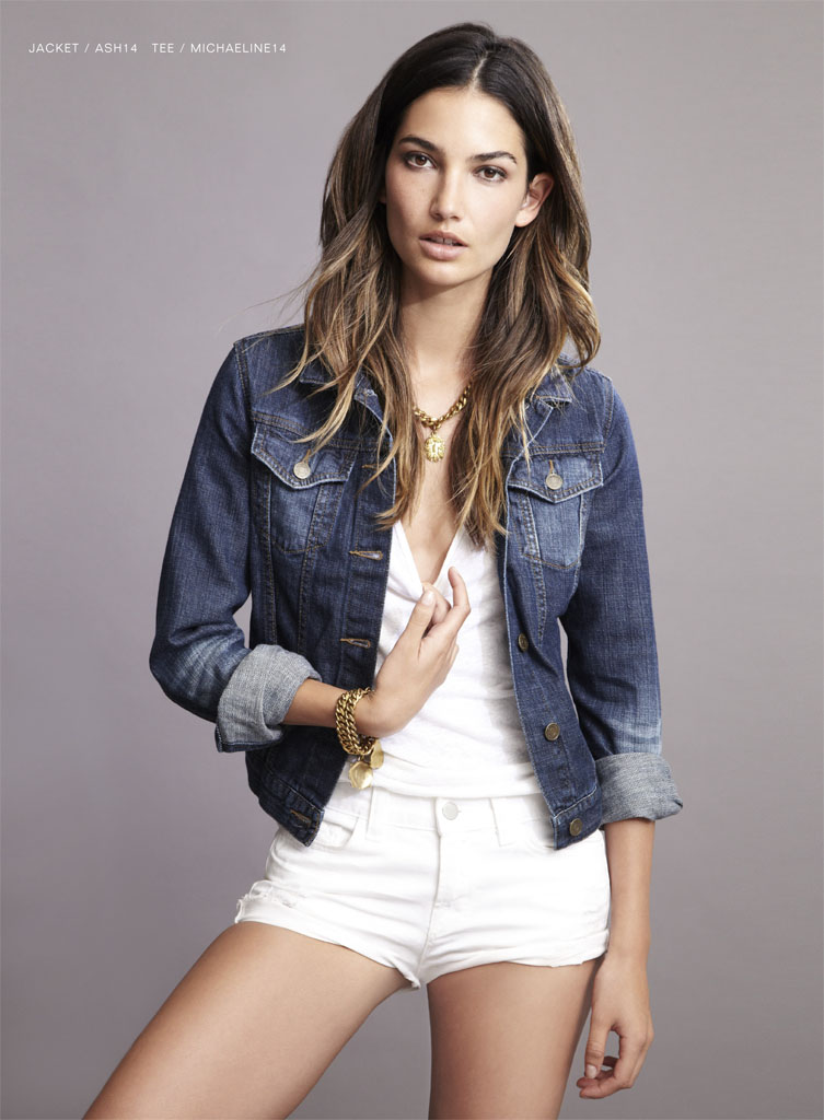 lily velvet lookbook7 Lily Aldridge Teams Up with Velvet for Spring 2014 Collection
