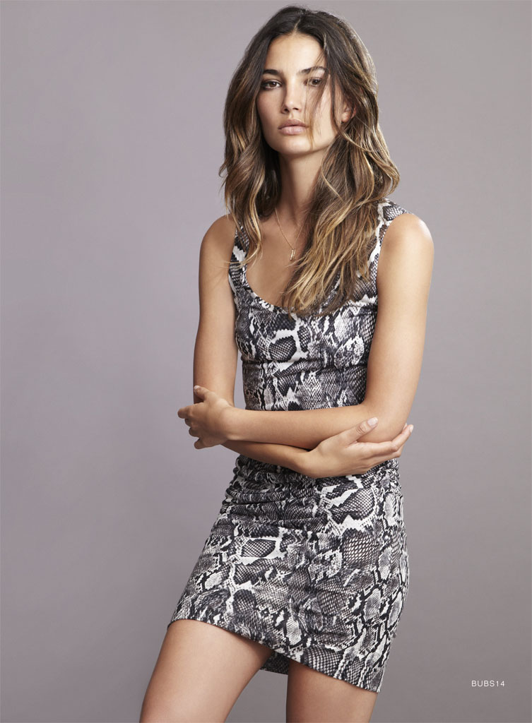 lily velvet lookbook8 Lily Aldridge Teams Up with Velvet for Spring 2014 Collection