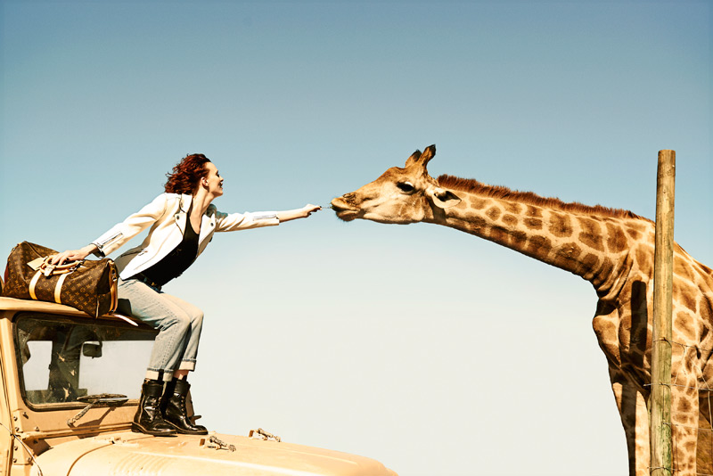 louis vuitton peter lindbergh2 Louis Vuitton Heads to South Africa for New Campaign by Peter Lindbergh