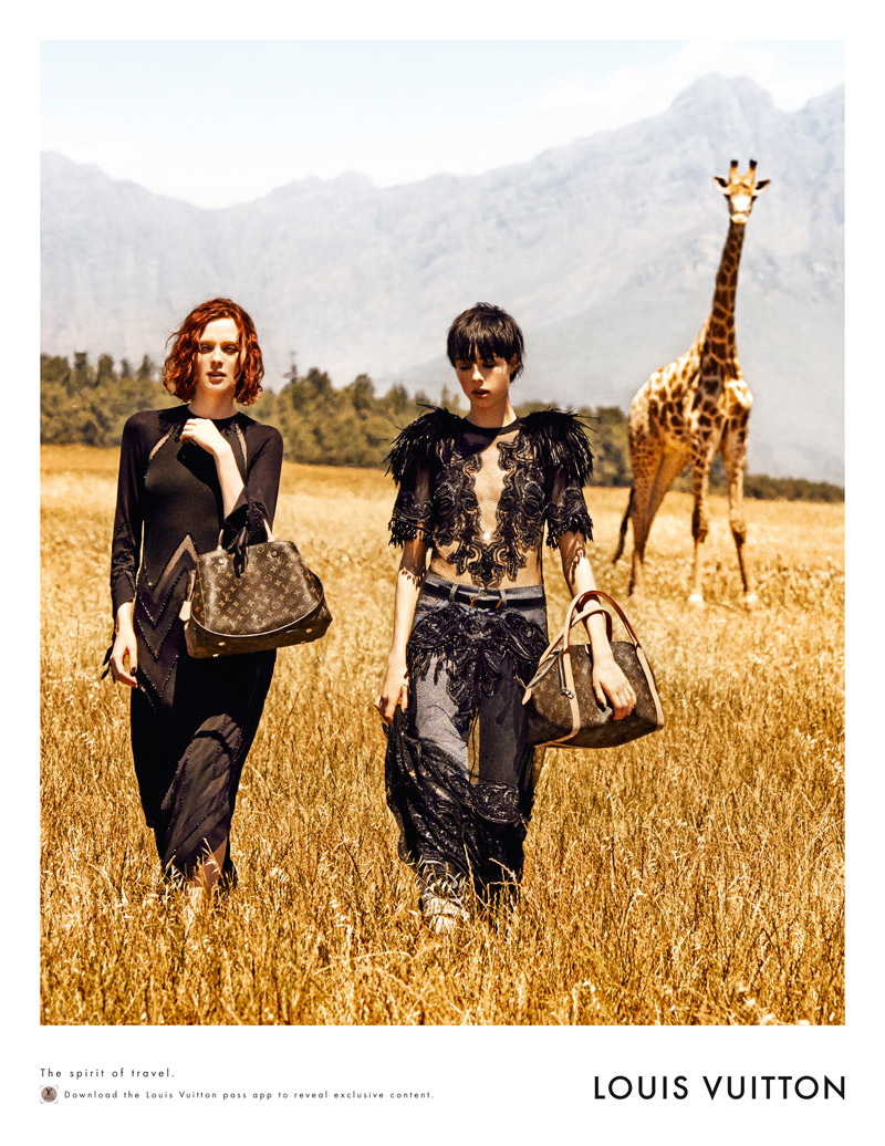 louis vuitton peter lindbergh3 Louis Vuitton Heads to South Africa for New Campaign by Peter Lindbergh
