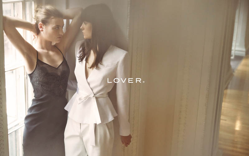 lover fall 20142 Montana Cox & Annabelle Harbison Star in Lover La Femme by Steven Chee