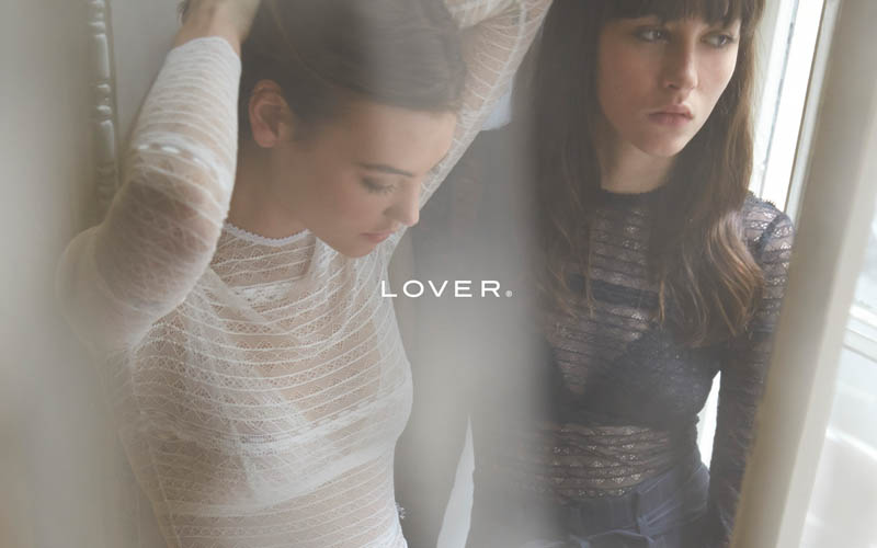 lover fall 20144 Montana Cox & Annabelle Harbison Star in Lover La Femme by Steven Chee