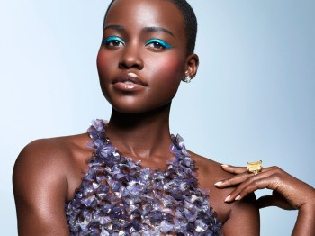 Lupita Nyong'o Shines in Spring Makeup Looks for Essence