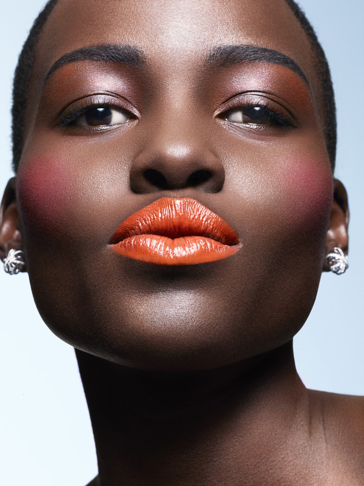 lupita nyongo makeup2 Lupita Nyongo Shines in Spring Makeup Looks for Essence