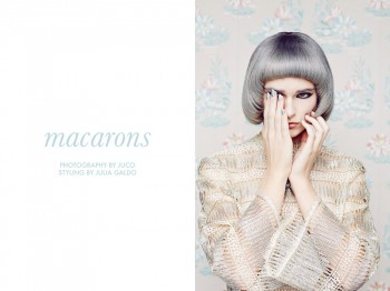 "Leah, Bryden, Jessica, Monica + Katy by JUCO in ""Macarons"" for Fashion Gone Rogue"