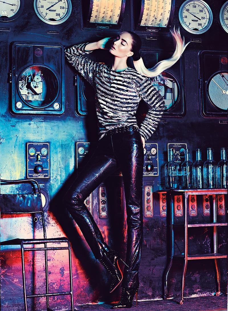 Mackenzie Hamilton Has a Spark for Fashion Magazine by Chris Nicholls