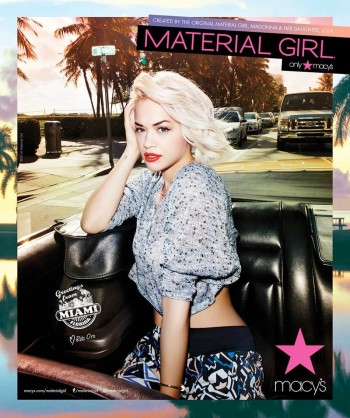 Rita Ora Takes Miami for Material Girl's Spring 2014 Ads
