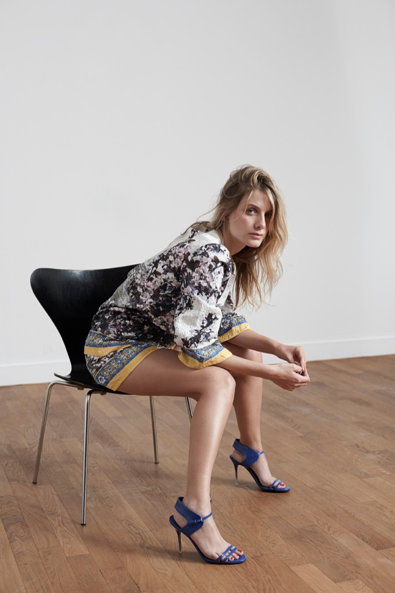 melanie laurent photo shoot2 Melanie Laurent Poses for Eric Guillemain in S Moda Spread