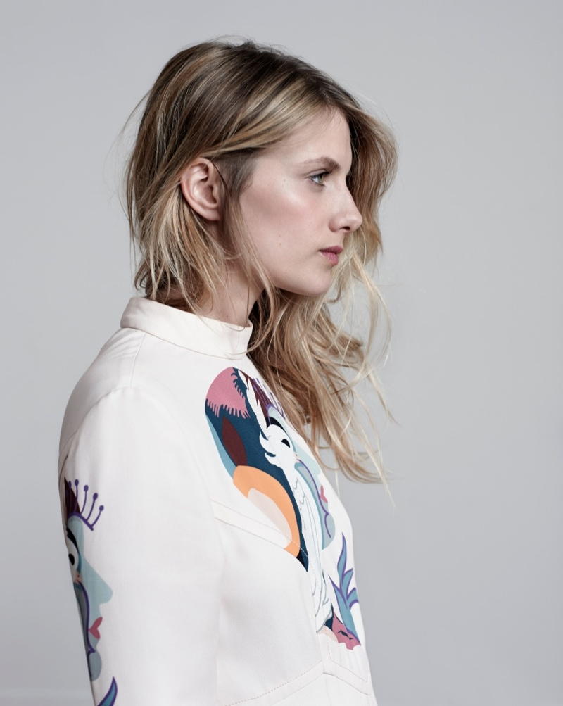 melanie laurent photo shoot5 Melanie Laurent Poses for Eric Guillemain in S Moda Spread