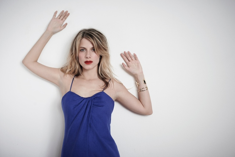 melanie laurent photo shoot7 Melanie Laurent Poses for Eric Guillemain in S Moda Spread