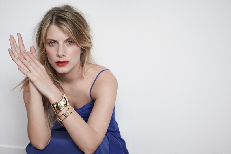 melanie laurent photo shoot8 Melanie Laurent Poses for Eric Guillemain in S Moda Spread